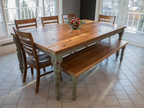 Our Old English Dining Table Brings Warmth And Conversation To Any Home.