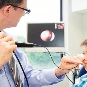 Nasofibroscopia ou Endoscopia Nasal