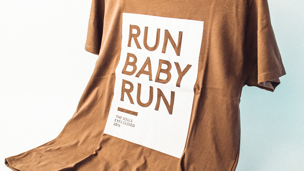 Run Baby Run - T-Shirt Boys