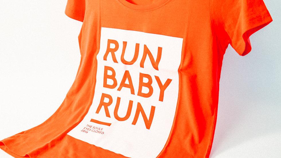 Run Baby Run - T-Shirt Girls