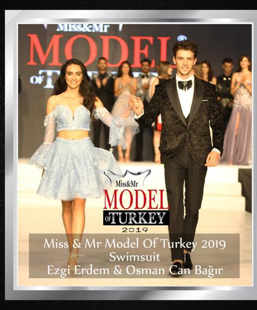 Miss & Mr Model Of Turkey 2019 Swimsuit