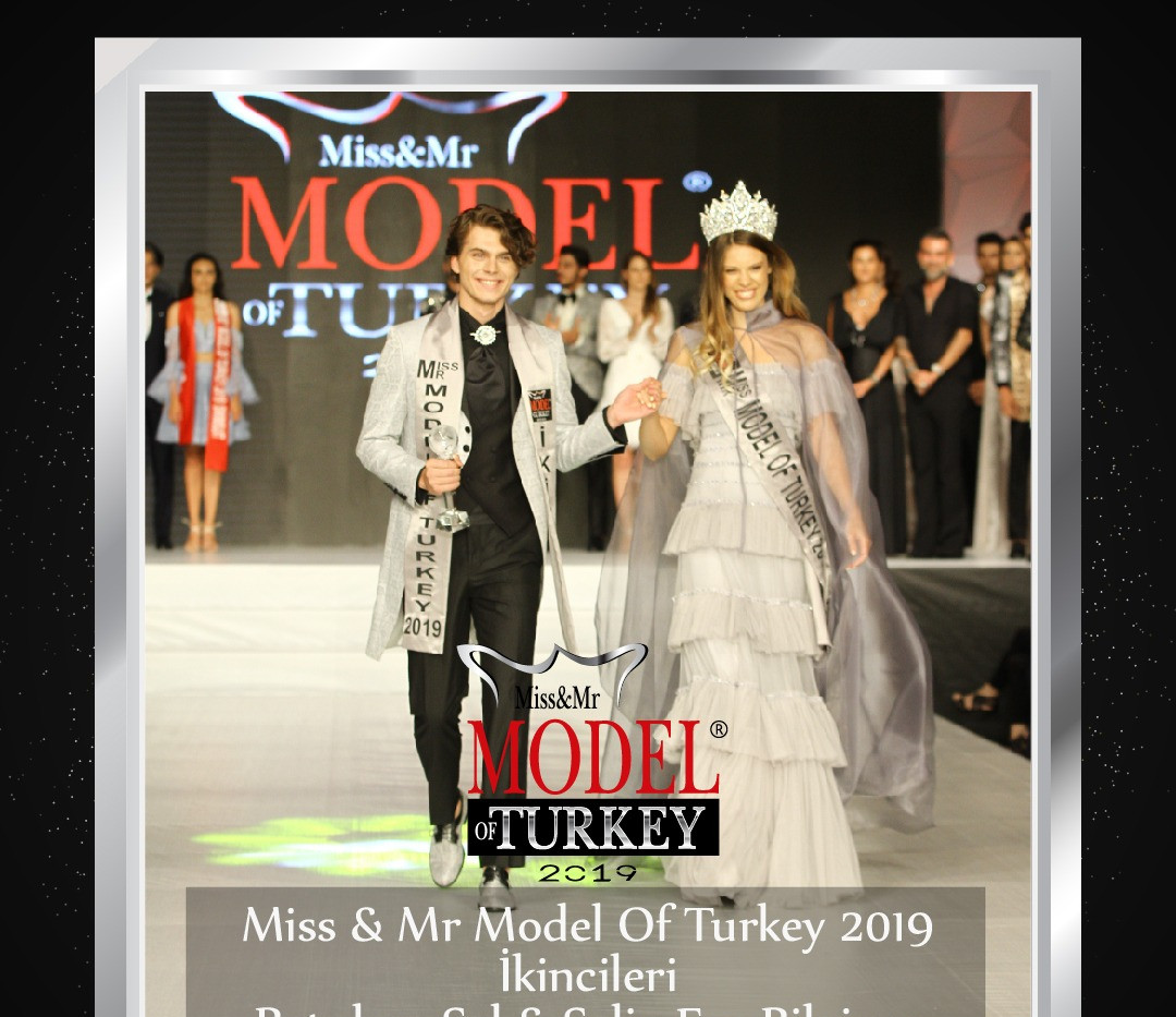 Miss & Mr Model Of Turkey 2019 ikincileri