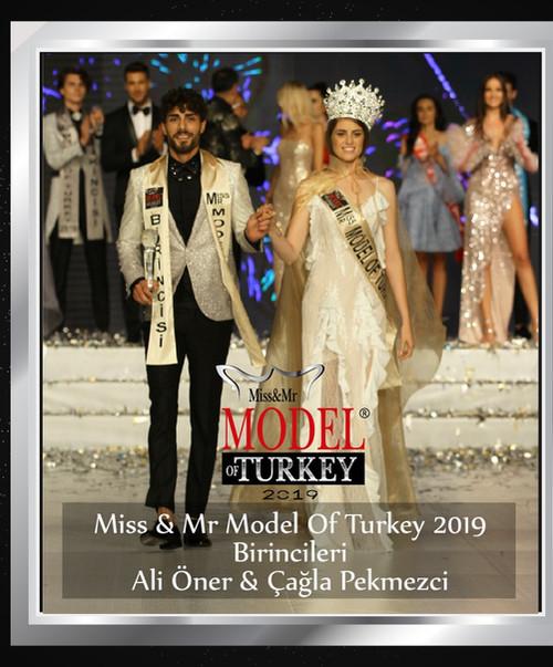 Miss & Mr Model Of Turkey 2019 Birincileri
