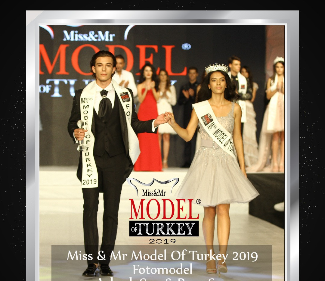 Miss & Mr Model Of Turkey 2019 Fotomodel