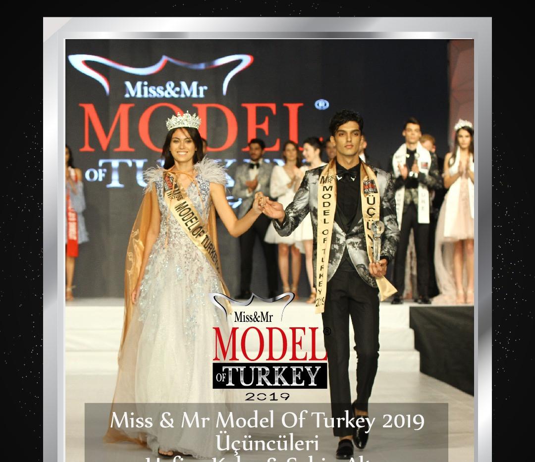 Miss & Mr Model Of Turkey 2019 Üçüncüleri