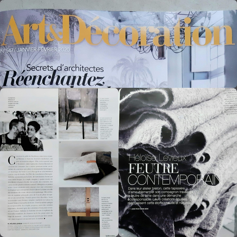 art et décoration 01/2020