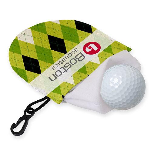 Pochette pour nettoyer balle de golf