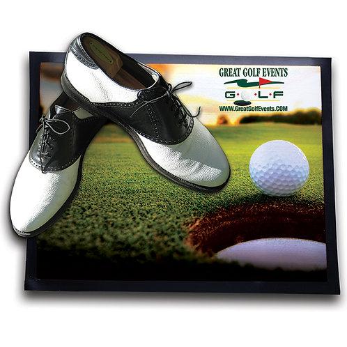 Tapis pour souliers de golf
