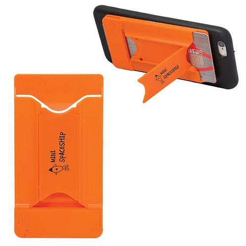 Porte carte avec support et nettoyeur d'écran