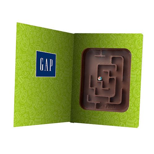 Labyrinthe en chocolat