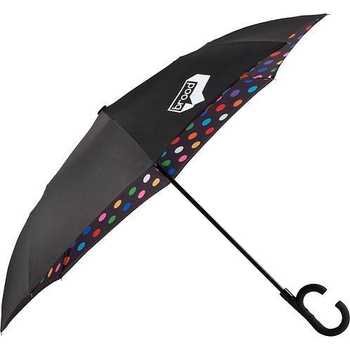 Parapluie réversible 48 po