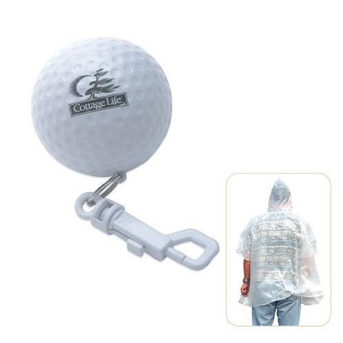 Poncho de golf