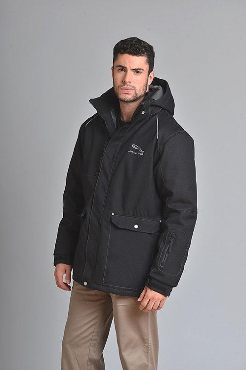 Manteau solide avec coutures scellées pour hommes