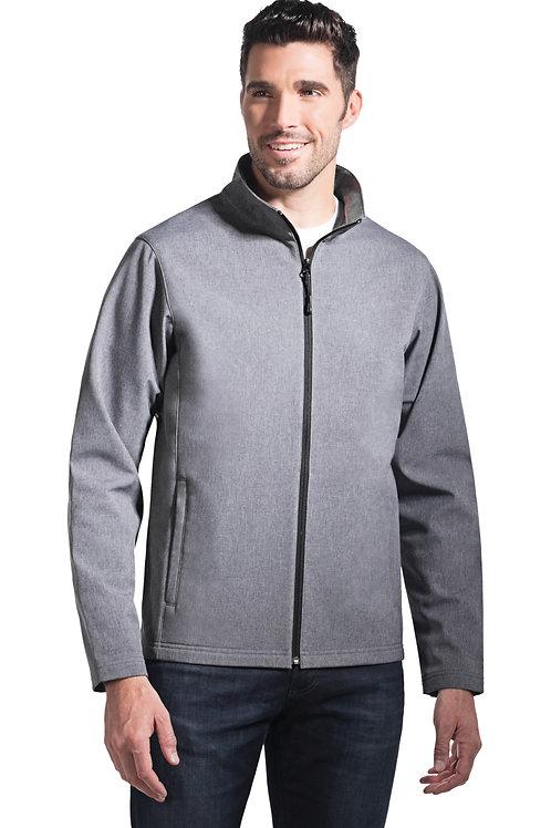 Manteau à coquille souple 3 couches de molleton