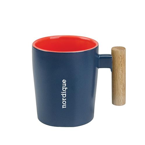 Tasse avec poignée en bois 15 oz