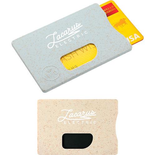 Porte-cartes de téléphone en pailles de blé
