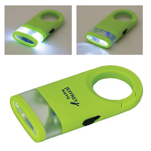 Mousqueton porte-clés avec lumière DEL
