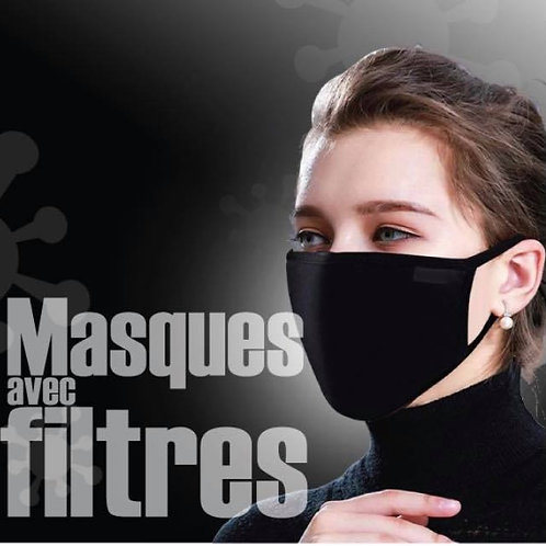 Masque avec filtre
