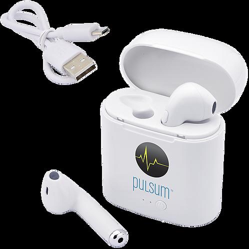 Écouteurs sans fil avec chargeur