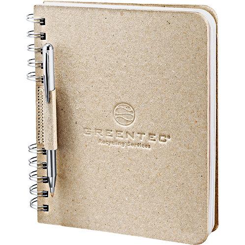 Cahier de notes en papier carton recyclé