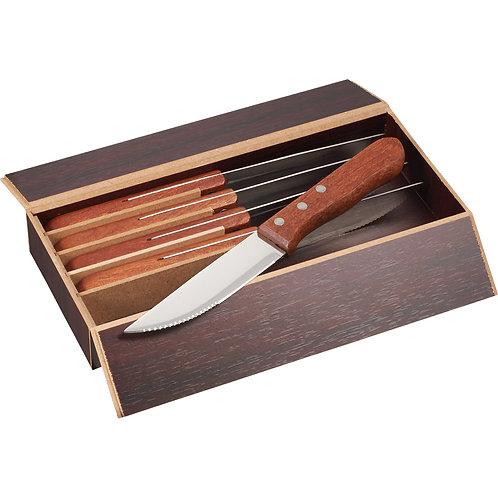 Ensemble de 6 couteaux à steak surdimensionnés