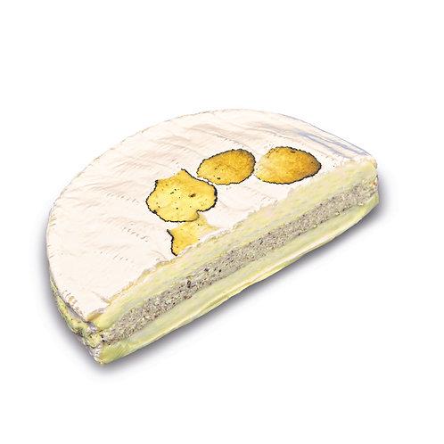 Brie Nangis mit schw. Trüffel-Frischkäsecreme gefüllt (ca. 800g)