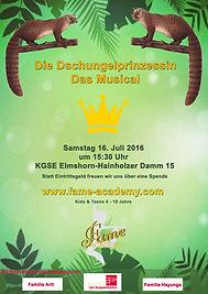 Fame Academy Dschungelprinzessin Musical