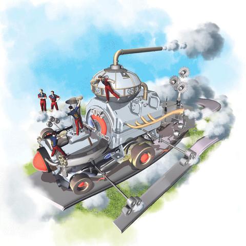 Wirtschaftsmaschine