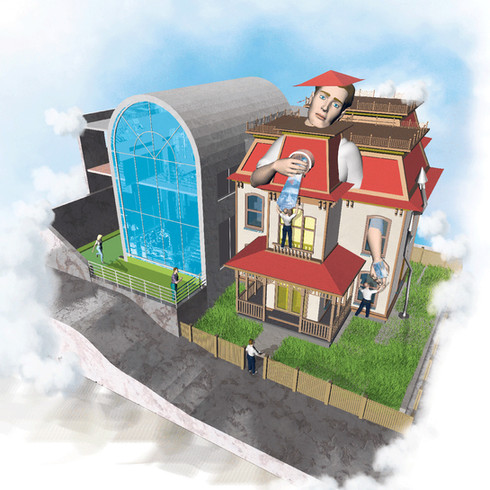 Hausbesteuerung alt neu