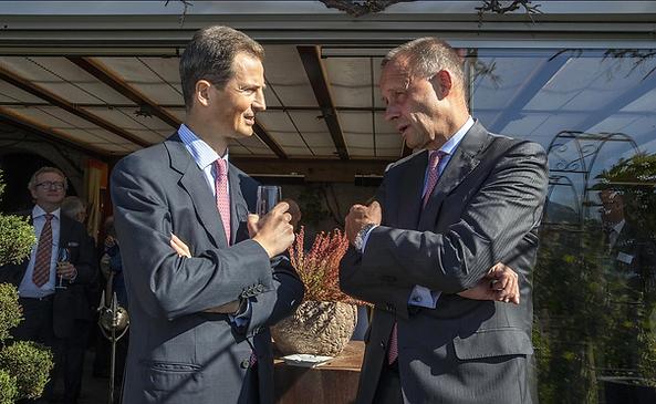 Prinz Alois und Friedrich Merz in Vaduz