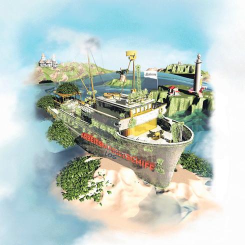 Arbeitslosenschiff Bodensee