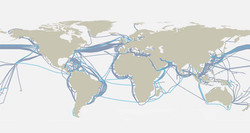 Fibre optic subsea cable system