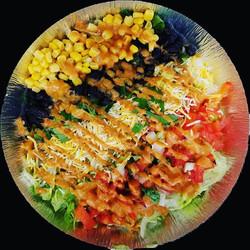 "Lunch special ""ensalada gringa"" #salad #"