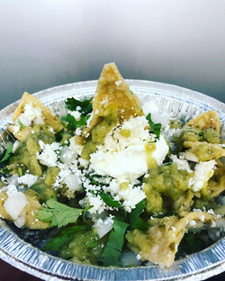 "Perfect weather for ""CHILAQUILES"" !!"