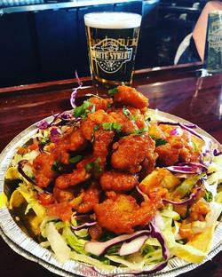 Dinamita shrimp nacho _whitestreetbrew !