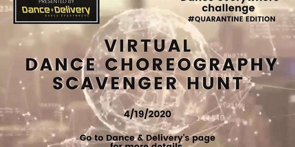 Virtual Dance Scavenger HUNT