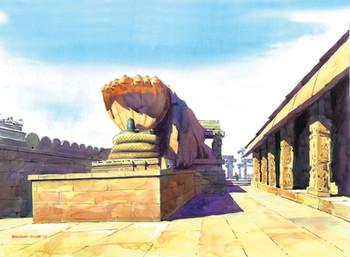 4 Veerbhadra Temple - Lepakshi -