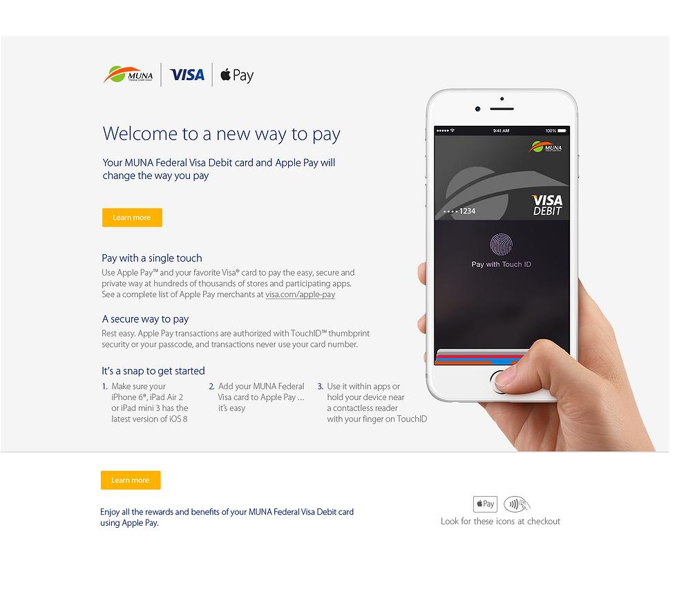 Apple Pay Debit Card
