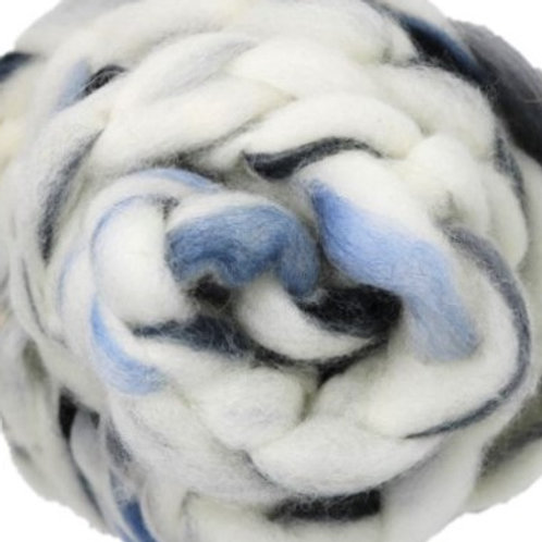 Blended Roving - Alpaca Ice