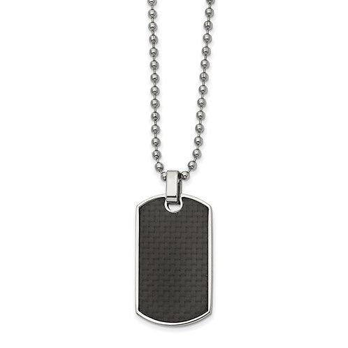 Men's Reversable Dog Tag Necklace