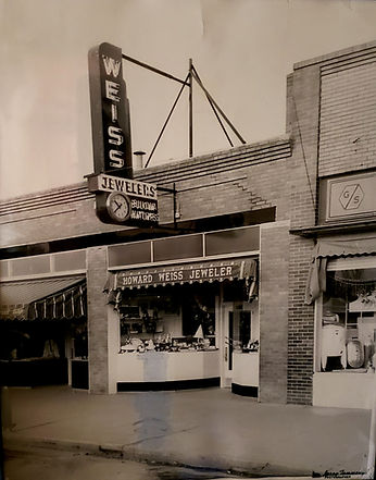 Weiss Jeweler original downtown Greeley store