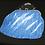 Thumbnail: Handbag - Alpaca Afghan Dog (blue)