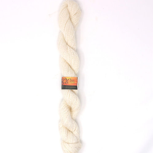 Suri/Nylon Sock Yarn - White