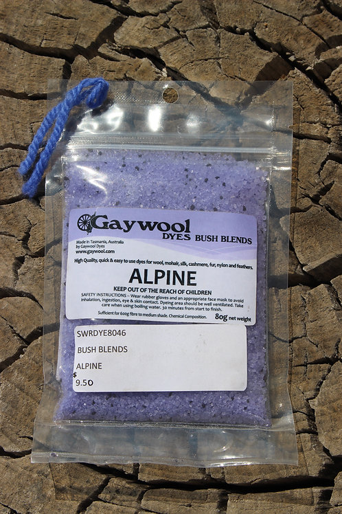 Gaywool Dyes Bush Blends - Alpine