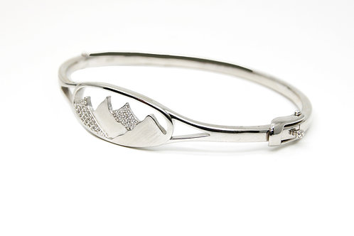 Mason Sterling Silver Mountain Bracelet