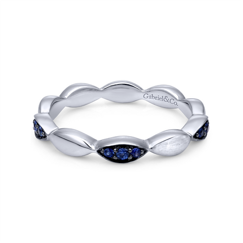 Sapphire Station Ring