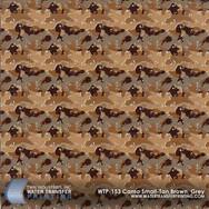 WTP-153 Camo Small-Tan, Brown, Grey