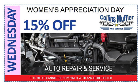 Wednesday Special Collins Muffler and Service - Greeley CO