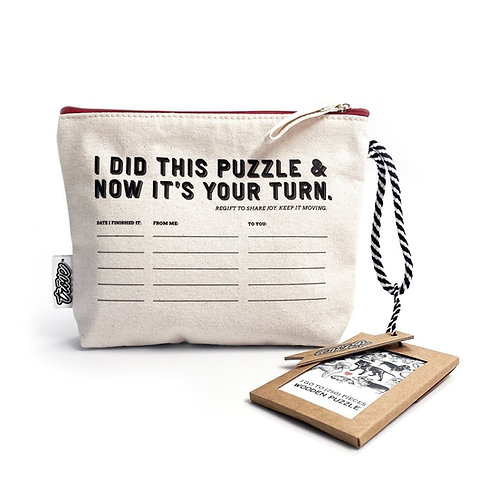 Wooden Puzzle: Pet Show in Pouch