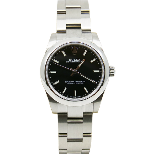 Rolex Oyster Perpetual Stainless Steel Womens Watch - Model 177200